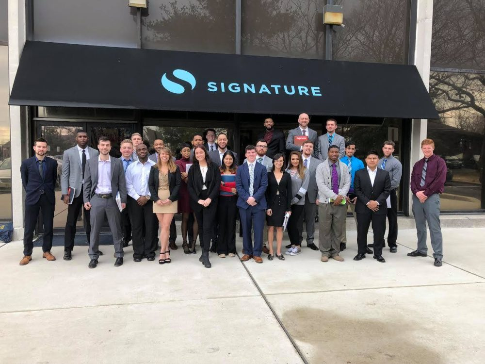 PRESS RELEASE: Signature, Inc. Team Members Receive World-Class Training
